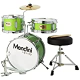 Buy Small Childrens Drums - Mendini 3 Piece Green Drumset