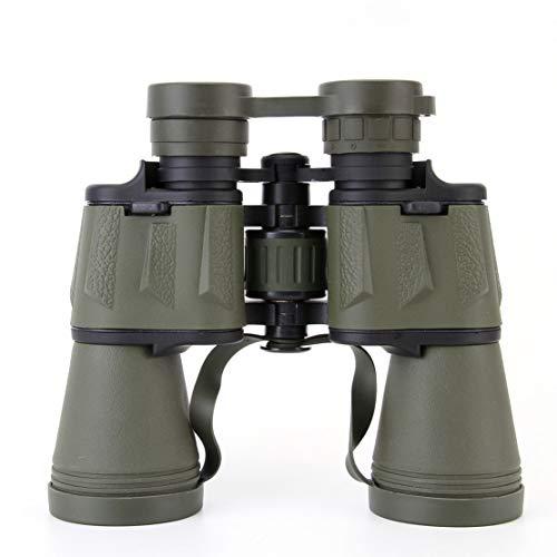 Jumelles HD 20 x 50 - Vision nocturne - En plastique et acier - Lentille à revêtement multicouche - Pour observation des oiseaux, chasse, voyage