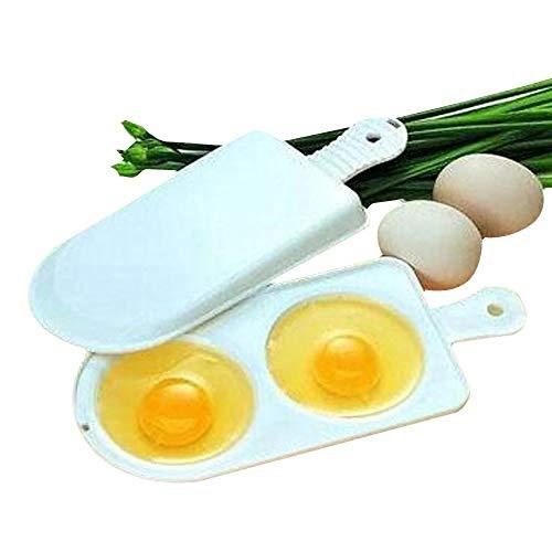 Magnetron Oven Eierkoker omeletten Box Dual 2 Eieren boilling Gereedschap