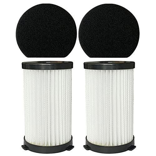 WuYan 2 Filtri e 2 Spugne Accessori per Scopa Elettrica filtro handy force 2761 2759
