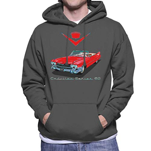 Cloud City 7 1959 Cadillac Series 62 Men's Hooded Sweatshirt