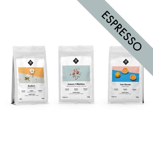 19grams Kaffeerösterei | 3x 250g | Kaffee Probierset Espresso, 3 x 250g sortenreine specialty Espresso | ganze Bohne | frisch geröstet | 100% Arabica Kaffeebohnen | specialty coffee…