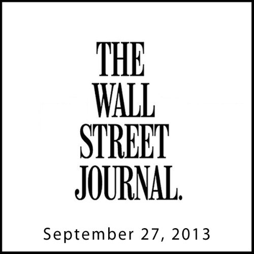 The Morning Read from The Wall Street Journal, September 27, 2013 copertina
