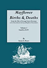 Mayflower Births & Deaths, from the Files of George Ernest Bowman at the Massachusetts Society of Mayflower Descendants. Volume 2, Families H-W. Index