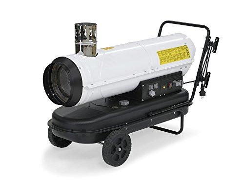 TROTEC Ölheizgebläse Heizkanone IDE 30 Ölheizer Ölbeheizung Heizer (30 kW Heizleistung)