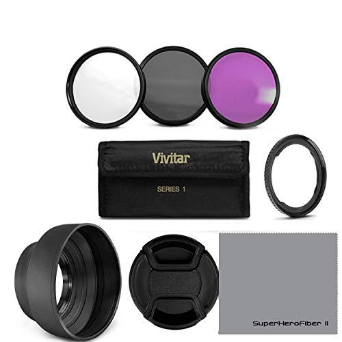 Essential Accessory Kit for Canon PowerShot SX530 HS, SX520 HS, SX60...