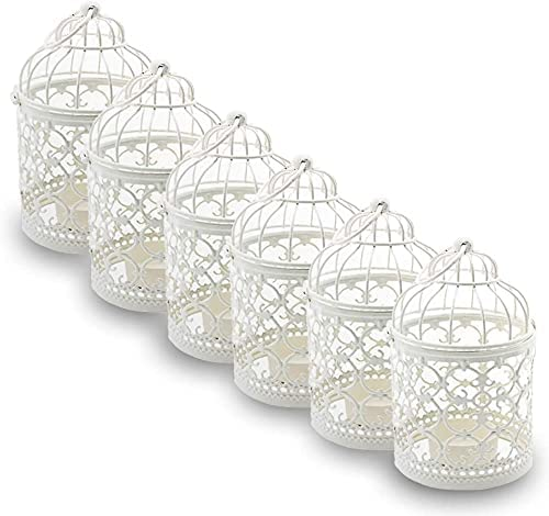 Bird cage candle holders wholesale
