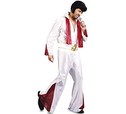 Fyasa Disfraz de Elvis 706061-T04, grande