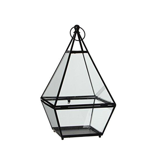 MICA Decorations 1003374 Lanterne brienon Noir
