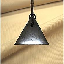 Boviswert Annonce. schungit Pendentif, symbole homme, env. 4x 0,6cm jusqu'à 11g. Avec certificat.