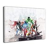 LP ART Canvas Print Wall Art Watercolor Super...