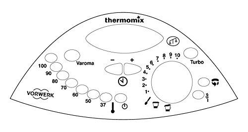 Thermodernizate.com Sticker de panneau de commande pour thermomix Tm31