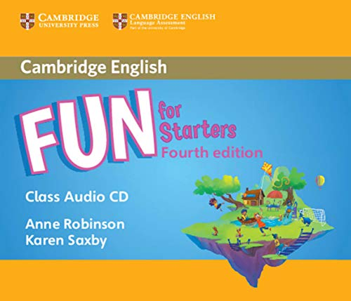 Fun for Starters. Audio CD. 4th Edition