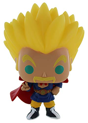 Funko POP Animation Dragon Ball Super Saiyan Hercule, brilla en la oscuridad