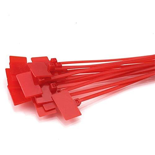 LUOSI Atadura de Cables 100pcs 4 * 150 mm de Nylon de...