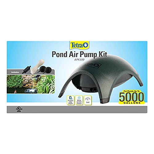 Tetra Pond Air Pump Kit, Provides Vital Oxygen to Pond Water (19706)