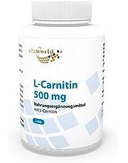 Vita World L-carnitine 500 mg 100 capsules apotheek productie