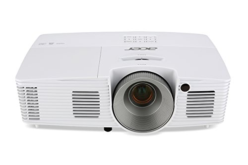 Acer X133PWH DLP-Projektor (WXGA, Kontrast 13.000:1, 1280 x 800 Pixel, 3.000 ANSI Lumen, HDMI 1.4a, 144Hz 3D) weiß
