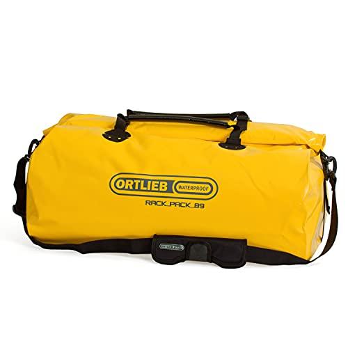 Ortlieb Unisex-Adult Rack-Pack Bike Bags, sunyellow-Black, One Size