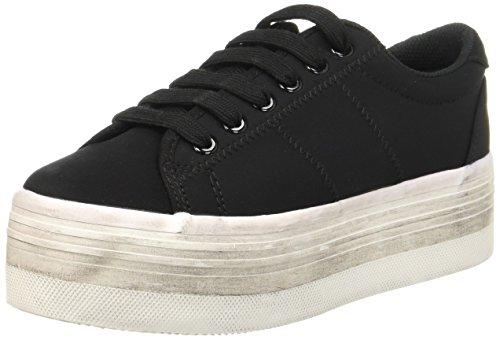 Mystique 2546, Damen ZOMG NEOPRENE Sneaker, Schwarz (BLACK NEOPRENE ), EU 37