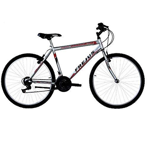 MASCIAGHI Bicicletta 24' Uomo MTB FREJUS 18VElocità Argento/Rosso