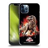 Head Case Designs Ufficiale Jurassic World T-Rex VS. Velociraptors Arte Chiave Cover Dura per Parte Posteriore Compatibile con Apple iPhone 12 / iPhone 12 PRO