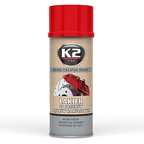BREMSSATTELFARBE 400 ml ROT - Farbe für Bremssättel und -trommeln