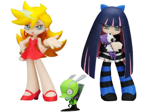 Panty & Stocking with Garterbelt Twin Pack Figuren: Panty, Stocking und Chuck 9 cm