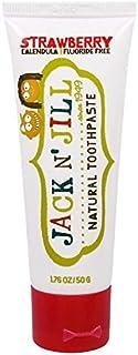 ジャックアンドジル 歯磨きジェル 50g X 5 種類味 セット(ストロベリー, ラズベリー,ブルーベリー,カシス,バナナ)[並行輸入品]