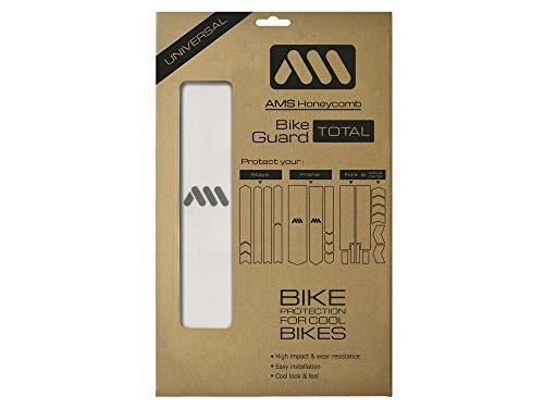 All Mountain Style Clair/Argent Cadre Total à Haute résilience-Protège Votre vélo des Rayures et des Coups Unisex-Adult