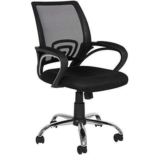 New Ergonomic Mesh Computer Chair Office Desk Comfortable Seat Mid-Back Modern Design Metal Base #598