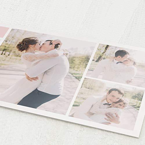 Danksagung Hochzeit, Schönste Momente, 5er Klappkarten-Set DIN Lang, personalisiert mit Wunschtext & persönlichen Bildern, optional mit passenden Design-Umschlägen