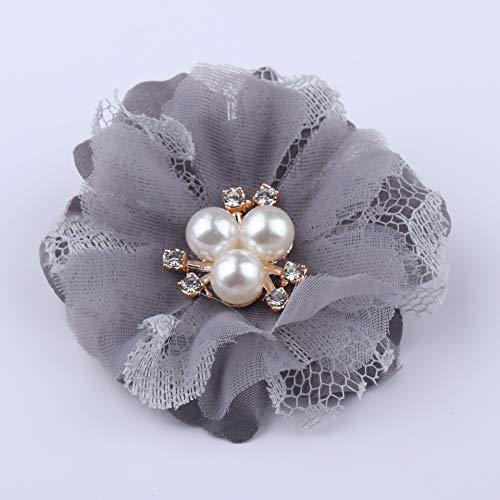 WEVB NUEVO 5 unids/lote encaje recorte parche apliques de tela de encaje vestido de novia DIY flores novia velo ropa decoración de sombreros (3)