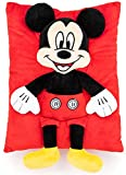 Jay Franco Disney Mickey Mouse 3D Snuggle Pillow - Super Soft – Measures 15 Inches (Official Disney Product)