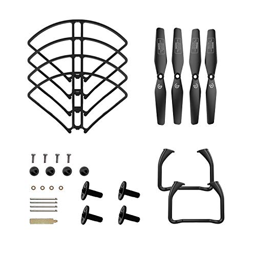 DEERC Spare Parts Kits (Propellers, Landing Gear, Propeller Guards) or HS120D RC Drone