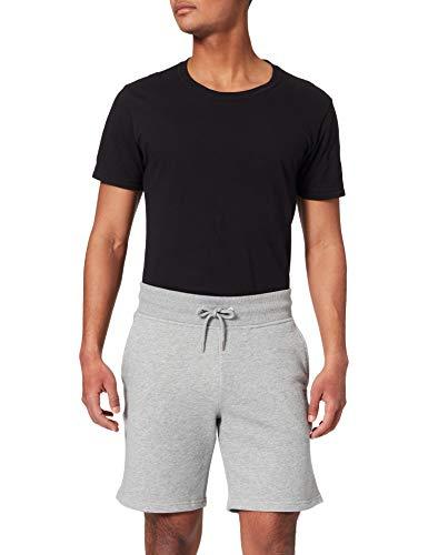 GANT Herren ORIGINAL Sweat Shorts, Grey Melange, L