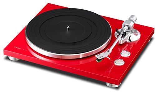 TEAC TN 300-R - Tocadiscos, color rojo