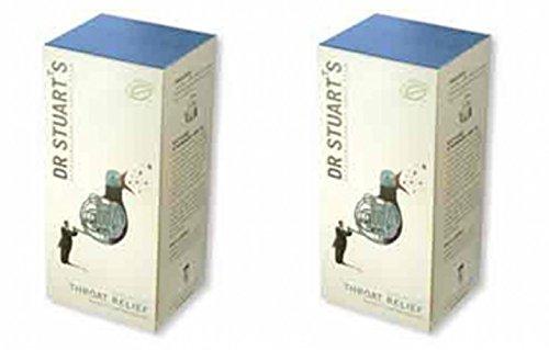 (2 Pack) - Dr Stuarts - Throat Relief Herbal Tea   15 Bag   2 PACK BUNDLE