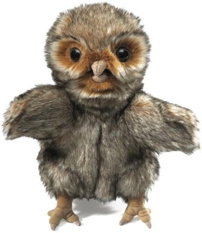 Plush Owlet Hand Puppet 9