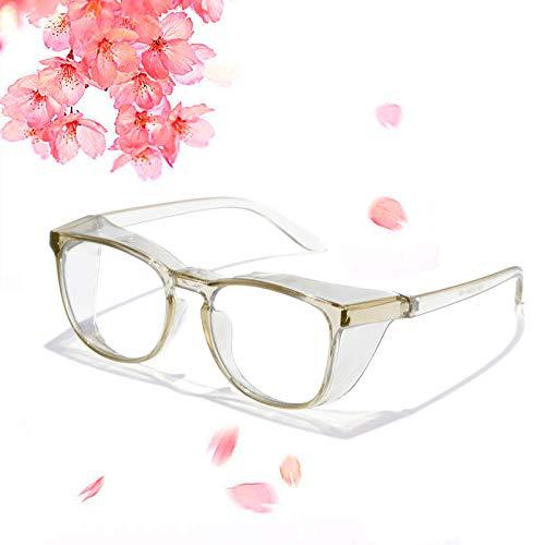 Anti Fog Safety Glasses, Anti UV Protective Glasses Blue Light Blocking Safety Glasses For Women...
