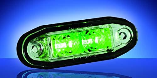 Lámpara LED de techo de color verde, número de pieza: 1001-3005-G
