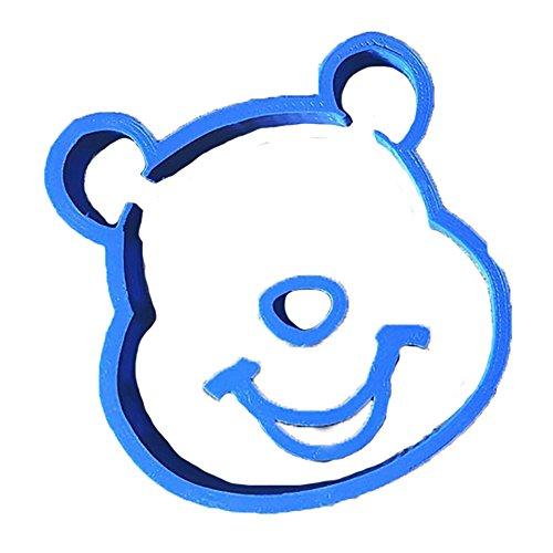 Cuticuter Winnie the Pooh Fondant Cutter, Blue, 8x 7x 1.5cm