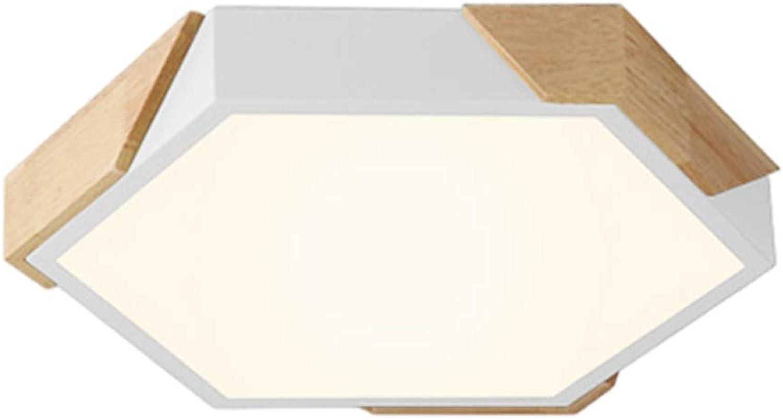 CCSUN Led deckenleuchte dimmbar, 18 w Eingebettet Decke in der nhe 11.8 in Wei Holz 1170-1350lm Für Wohnzimmer Korridor Küche-2 Modi 30cm