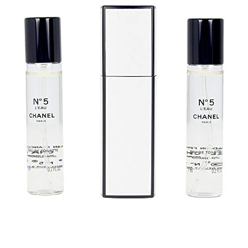 Chanel N⺠5 L'Eau Edt Twist & Spray 3X7 Ml 21 ml