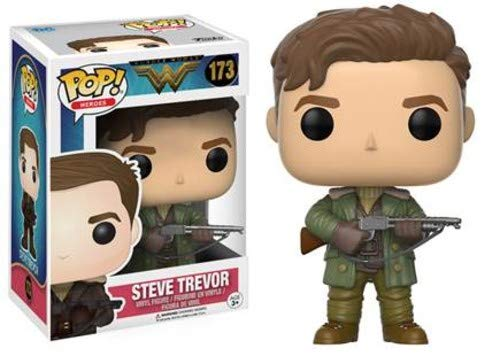 Funko 12542 - Wonder Woman Movie, Pop Vinyl Action Figure 173 Steve Trevor