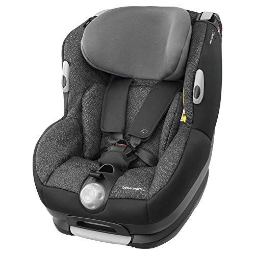 Bébé Confort OPAL, Silla de coche bebé, R44/04, a contramarcha o sentido de la marcha, ajustable y reclinable, instalación con cinturón de seguridad, 0 meses - 4 años, 0-18kg, Triangle Black (negro)