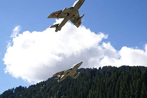 Jochen Schweizer Geschenkgutschein: Hawker Hunter Flug - Geschenk zu Weihnachten