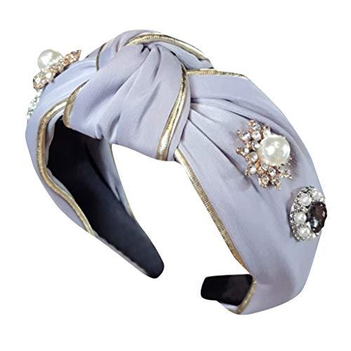 HADIY Headbands for Women Girl Turban Head Wrap Boho Hair Accessories for Fashion Or Sport (D)