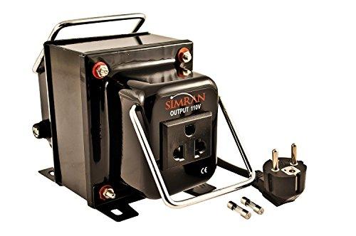 Simran THG-200 Simran 200W Step Down Transformer Voltage Converter for 220V to 110V Power Conversion