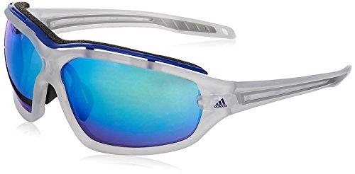 adidas Eyewear Evil Eye Evo Pro S, Farbe Crystal Matt, Größe Blue Mirror/CAT3